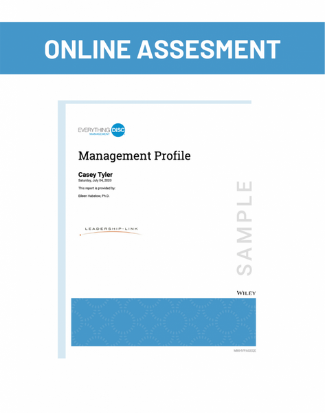 Online Assesment for Management