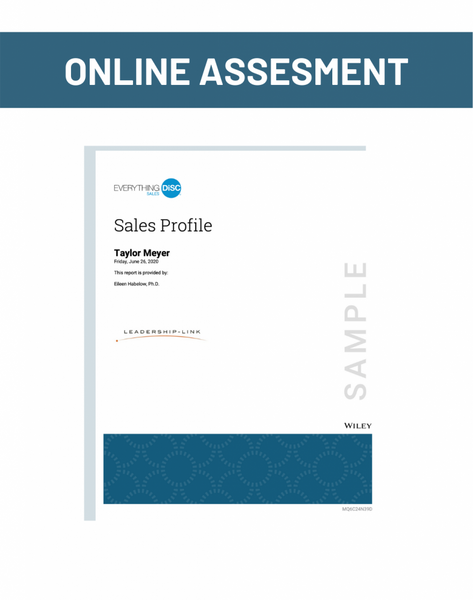 Online Assesment for Sales