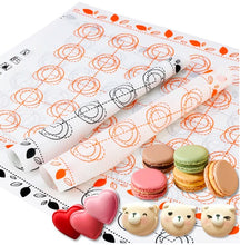 Load image into Gallery viewer, Macaron and Cookies Baking Mats - Bake Them Perfect. - shipshopsave