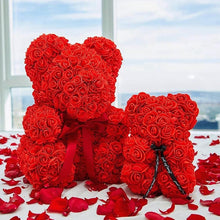 Load image into Gallery viewer, Teddy ROSE Bear - An Eternal Gift For Your Loved Ones.