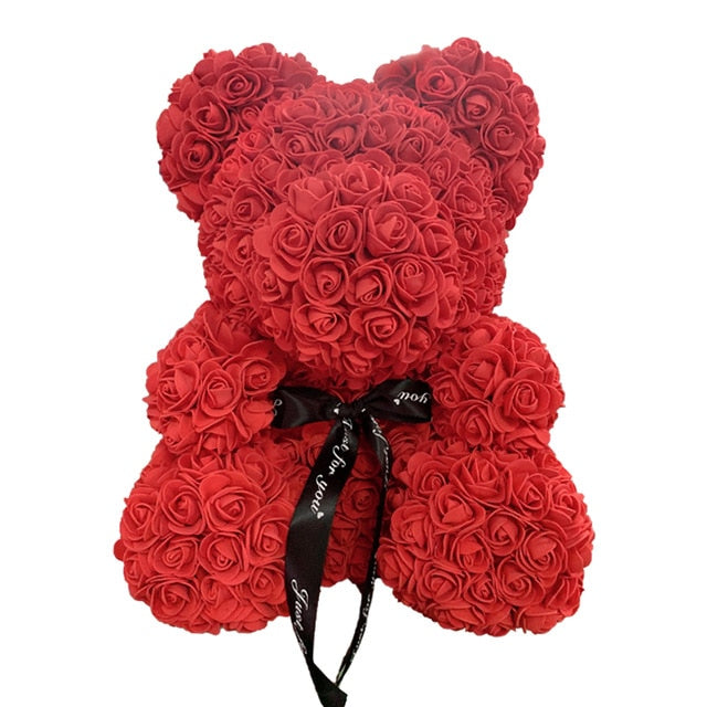 Teddy ROSE Bear - An Eternal Gift For Your Loved Ones.