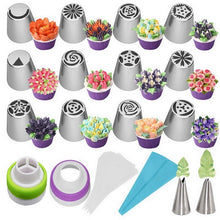 Load image into Gallery viewer, Cream Cake Decoration Nozzle Set - shipshopsave