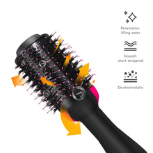 Load image into Gallery viewer, 3 in 1 Electric Hair Brusher, Straightener And Dryer. - shipshopsave