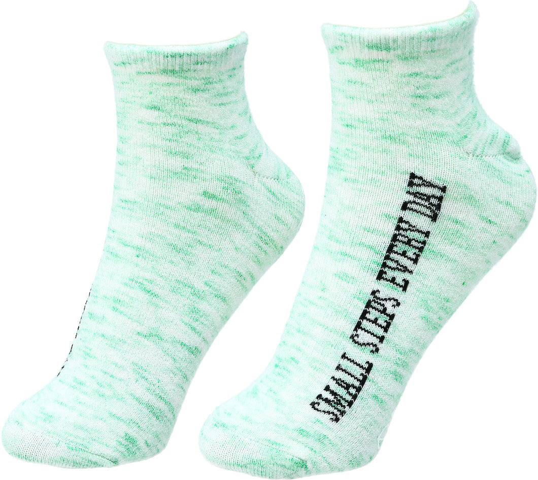 Small Steps Every Day Inspirational Socks