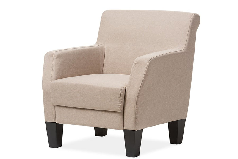 Silhouettes Club Chair-Beige