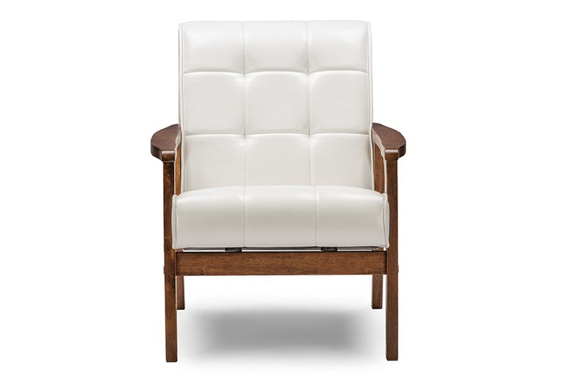 Mid-Century Masterpieces Club Chair - White