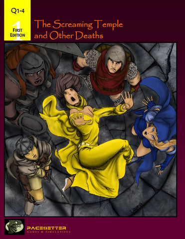 The Screaming Temple and Other Deaths (1e)