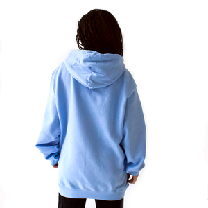 Gender is a Fantasy Baby Blue Hoodie