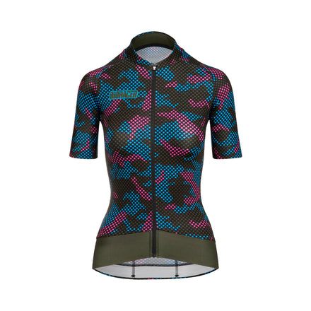 Women's Epic Camo21 Jersey Olive Blue