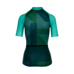 Womens Green Blitzz Jersey