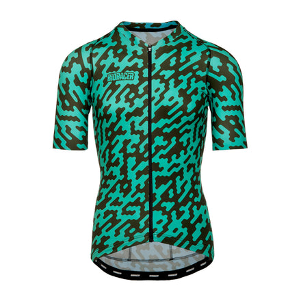 Mens Green Noise Jersey
