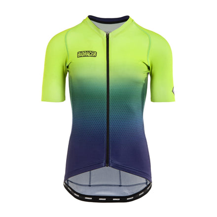 Mens Jupiter Fluo Green Jersey