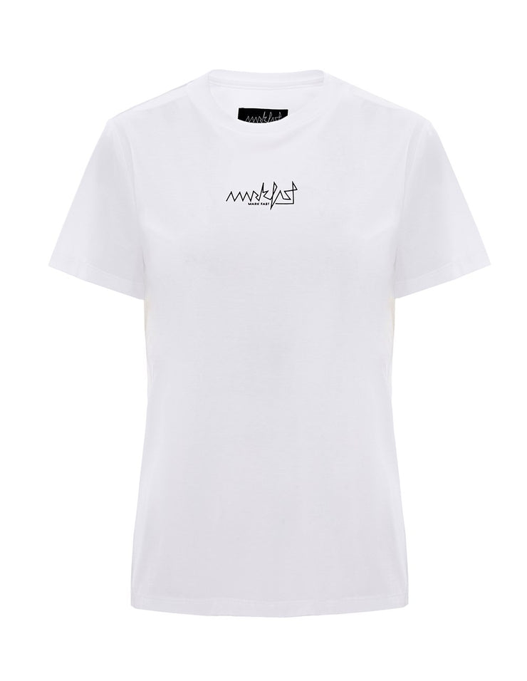 MARK FAST Women MF Logo Short Sleeve T-Shirt