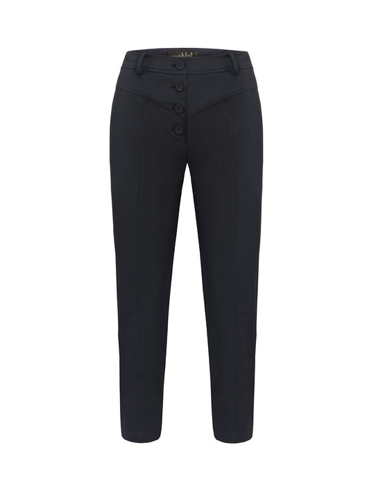 MARK FAST Women Classic Straight Fit Trousers
