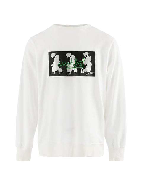 MARK FAST Men MF Dancing Floral Monster Metallic Printed Sweatshirt