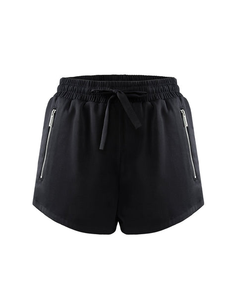 MARK FAST Women MF Logo Embroidery Jogger Sport Shorts