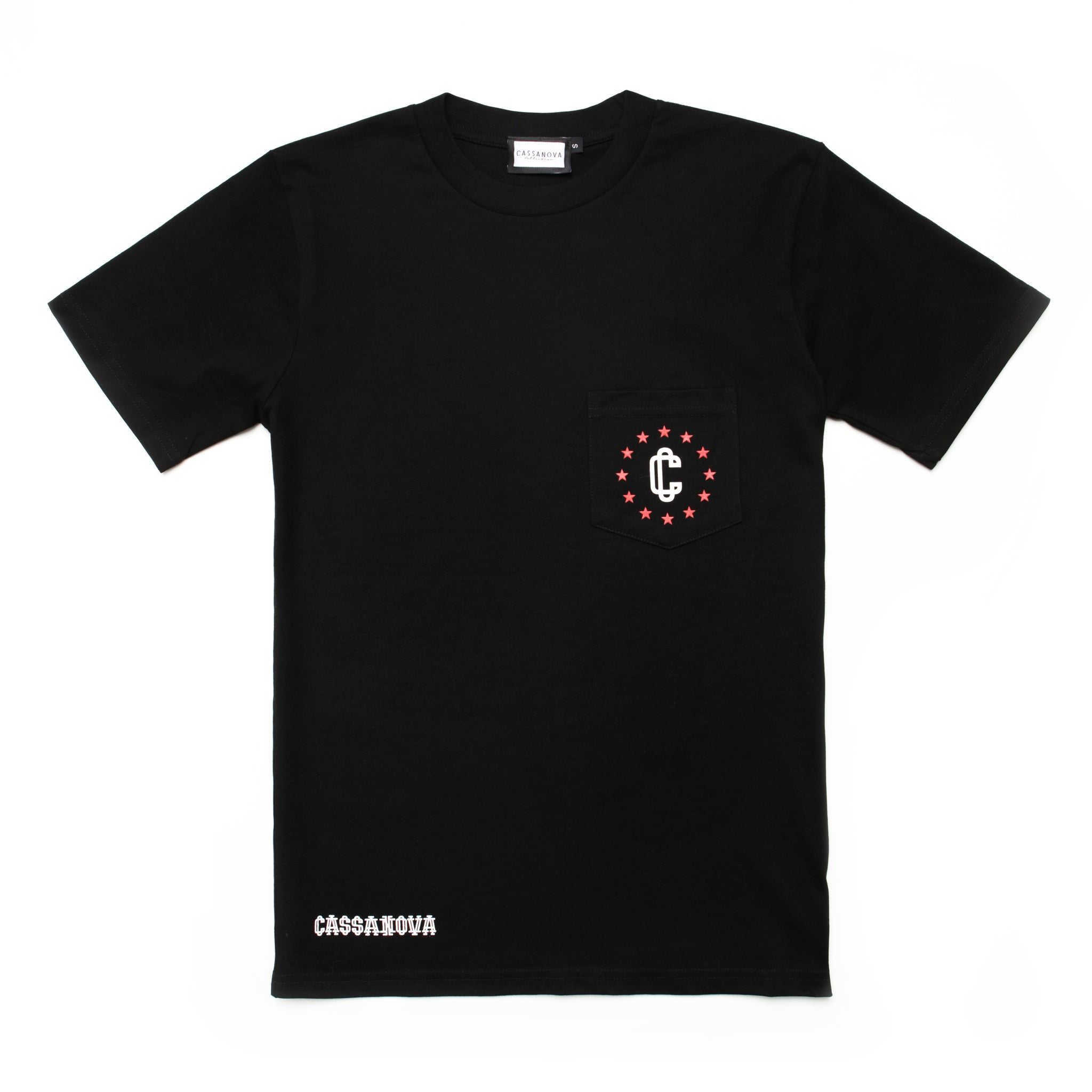Harley Pocket Tee Black