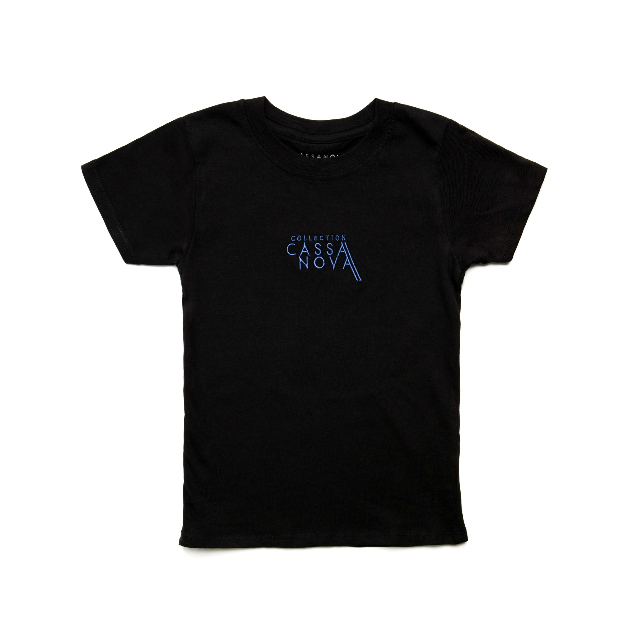 Kids Og Tee Black & Blue