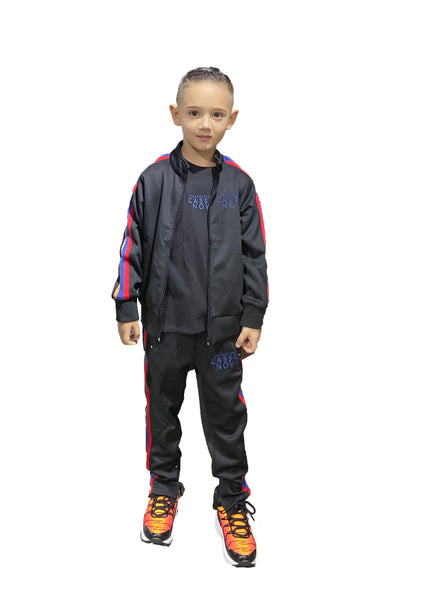 Kids Triple Taping Track Jacket
