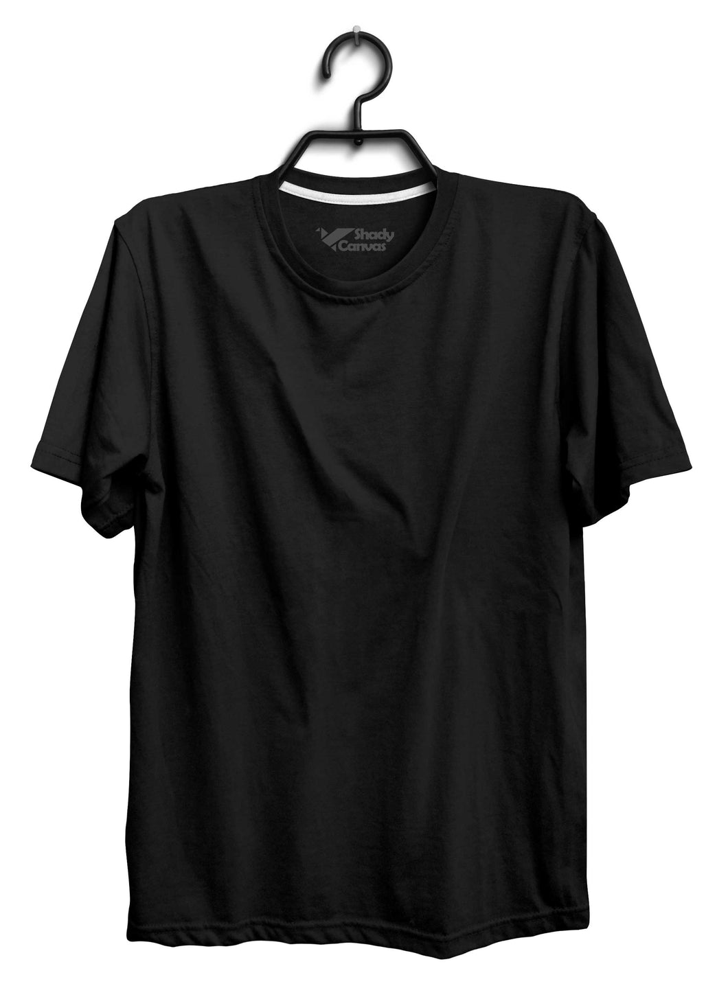 Custom Black T-Shirt (100% Cotton,Unisex)