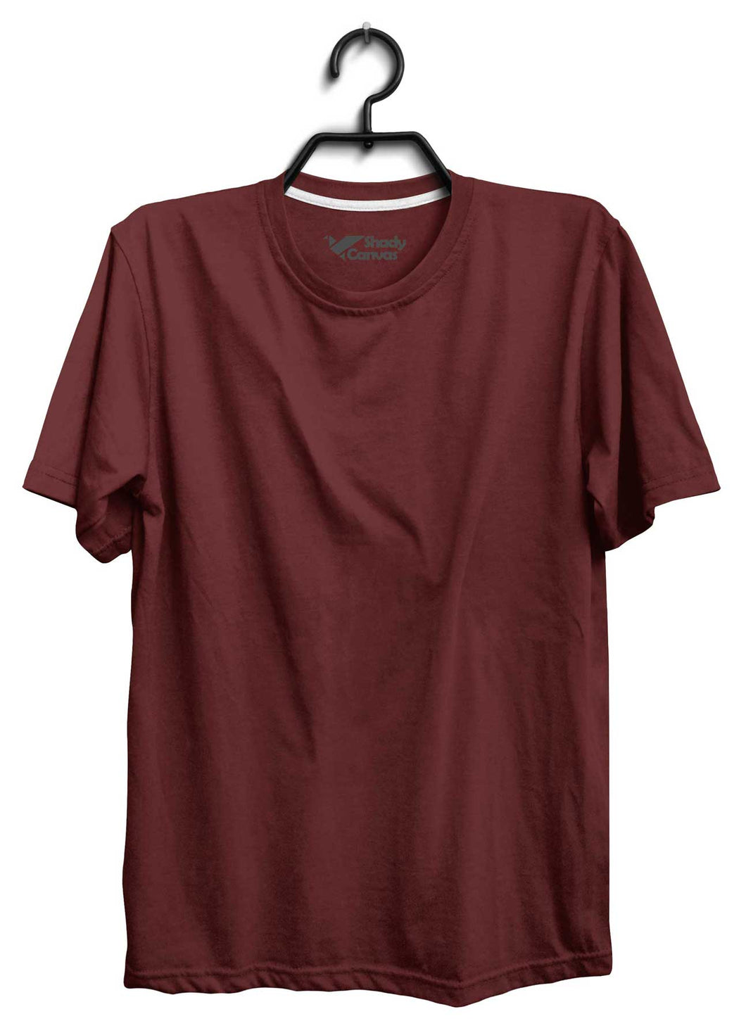 Custom Maroon T-Shirt (100% Cotton,Unisex)