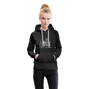 YouNeek Clothing Women's Premium Hoodie - black