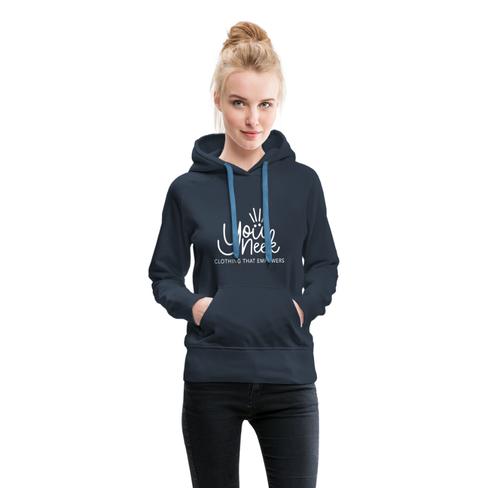YouNeek Clothing Women's Premium Hoodie - navy