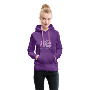 YouNeek Clothing Women's Premium Hoodie - purple