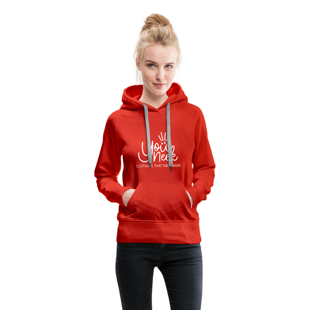 YouNeek Clothing Women's Premium Hoodie - red