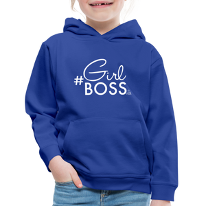 #Girl Boss Kids' Premium Hoodie - royal blue