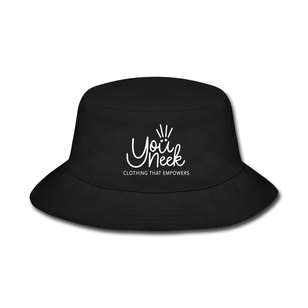 YouNeek Bucket Hat - black