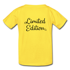 Limited Edition Youth Tagless T-Shirt - yellow