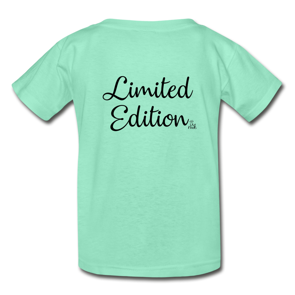 Limited Edition Youth Tagless T-Shirt - deep mint