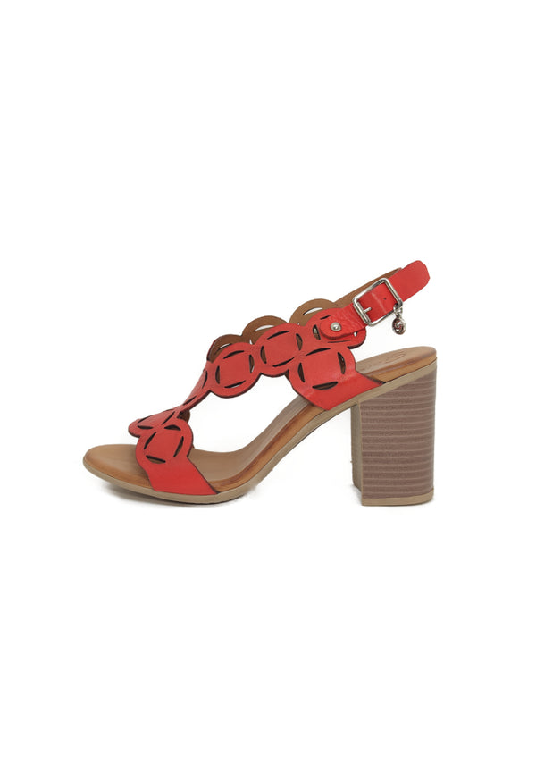GS141 RED - Sandalo donna
