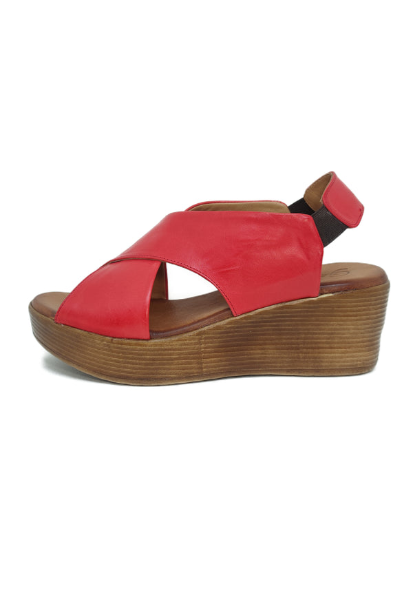 GS149 RED - Sandalo donna