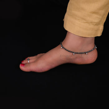 Bell Anklet-Zilver Craft - An Unique Silver Jewellery Online Store