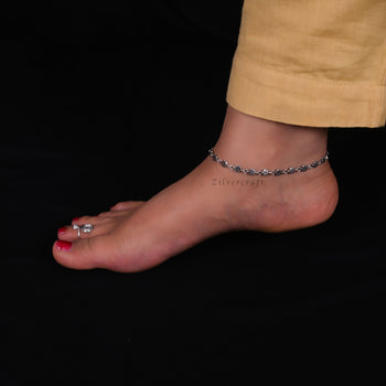Riva Anklet-Zilver Craft - An Unique Silver Jewellery Online Store