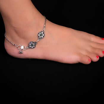 Sadabahar Stone Anklet (Single)