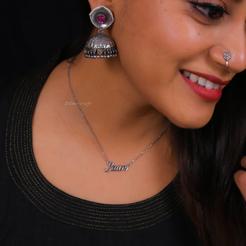 Jaan Necklace-Zilver Craft - An Unique Silver Jewellery Online Store