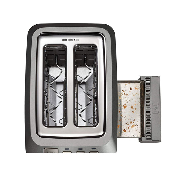 Wolf Gourmet 2-Slice Extra-Wide Slot Toaster - Stainless Steel