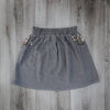 Isla Skirt - Granite Grey