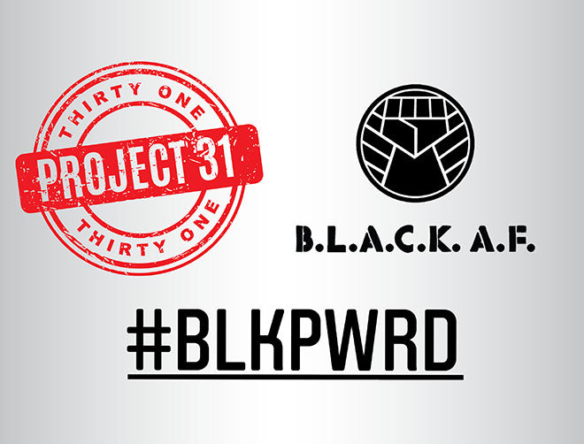 #BLKPWRD Black Non Profit Campaign Project 31 raffle ticket