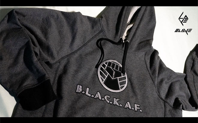BLACK AF Members only hoodie/backpack combo