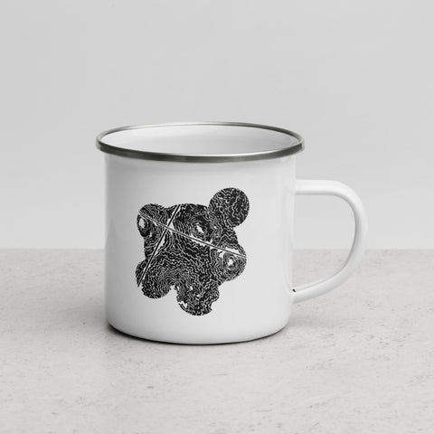 Decadance - Enamel Mug