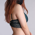 Load image into Gallery viewer, the best wishes padded nursing bralette in moss