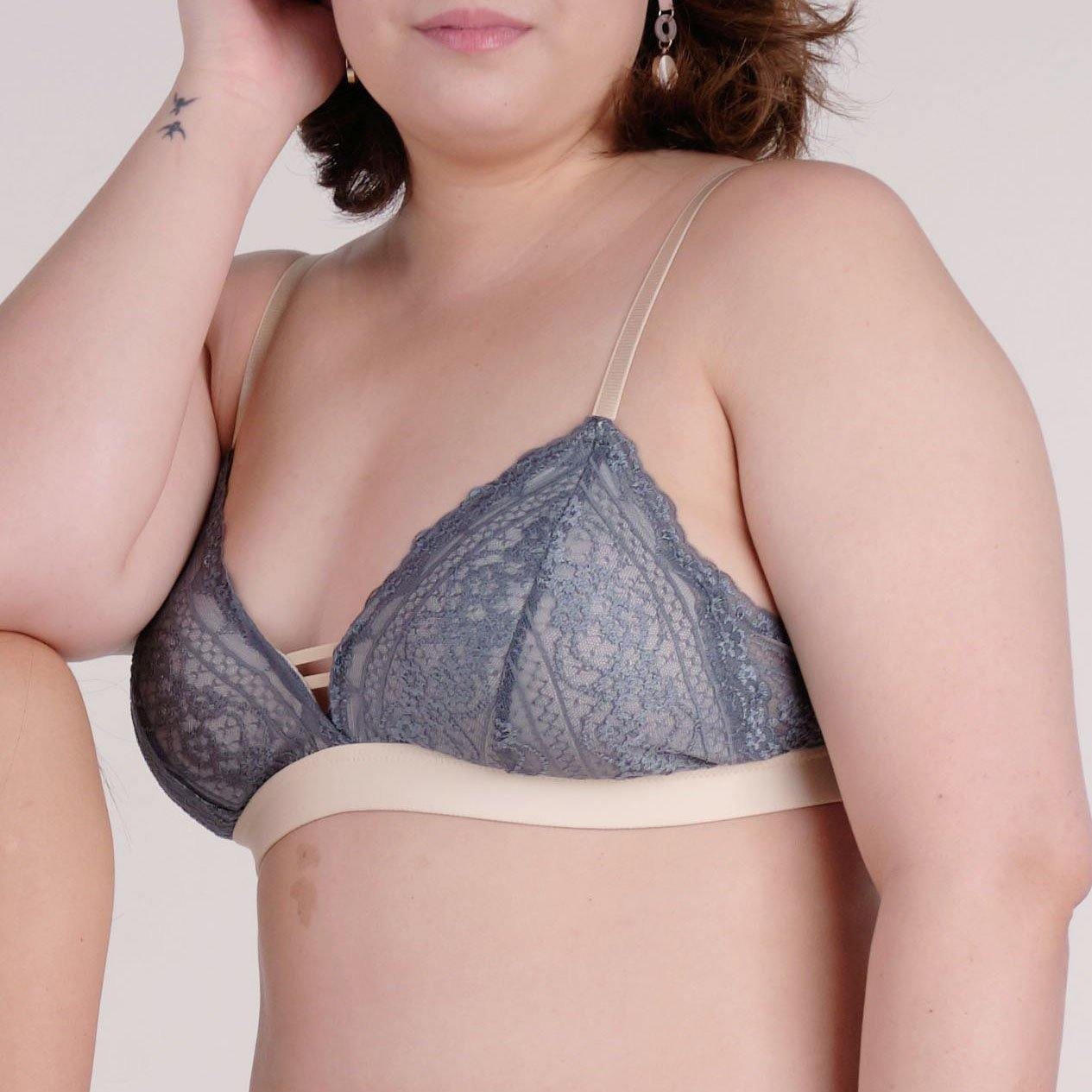 the sweet kisses padded bralette in legacy