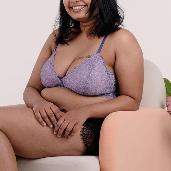 the best wishes padded midi bralette in go getter