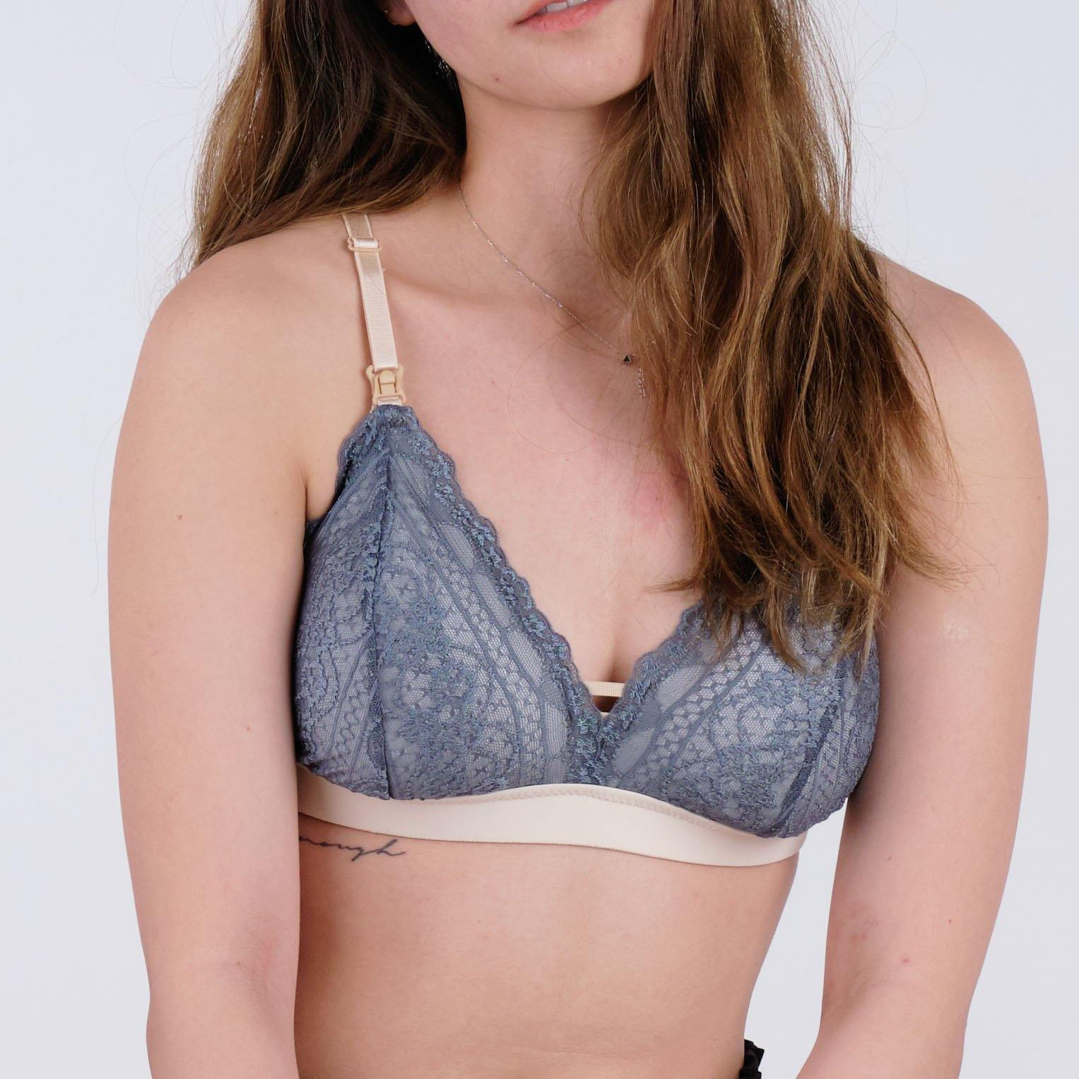 nursing - the sweet kisses padded bralette in legacy