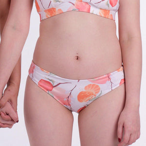 the fruitful print lilac reversible bottom