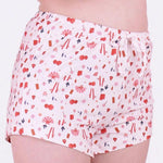 Load image into Gallery viewer, the sleep well shorts in prosper print
